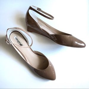 Patent d'orsay low wedges